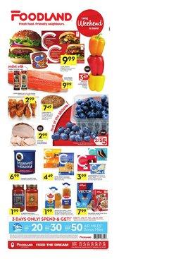 Foodland catalogue ( 3 days left)
