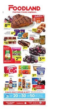 Grocery deals in the Foodland catalogue ( Expires tomorrow)