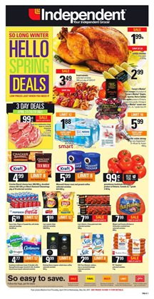 Grocery offers in the Independent Grocer catalogue in Gatineau