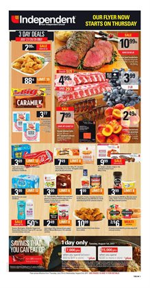 Independent Grocer deals in the Edmonton flyer