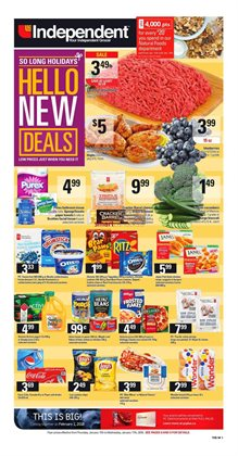 Grocery offers in the Independent Grocer catalogue in Vancouver