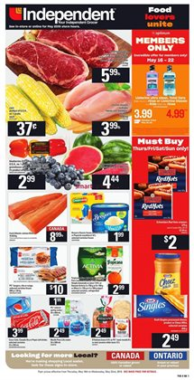 Independent Grocer deals in the Ottawa flyer