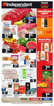 Independent Grocer deals in the Saskatoon flyer