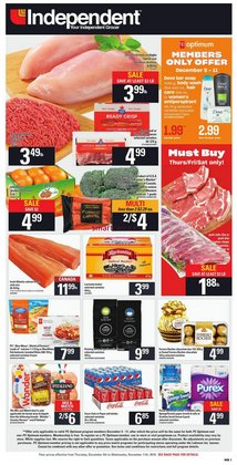 Independent Grocer deals in the Vancouver flyer
