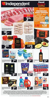 Independent Grocer catalogue in Edmonton ( 3 days ago )