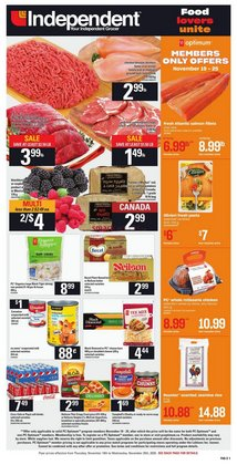 Independent Grocer catalogue ( Expires today )
