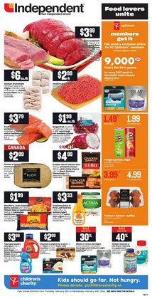 Independent Grocer catalogue ( Expired )