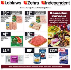 Independent Grocer catalogue in Ottawa ( 9 days left )