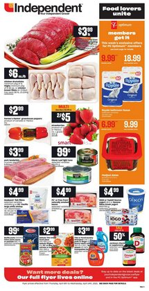 Independent Grocer deals in the Independent Grocer catalogue ( Expired)