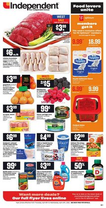 Independent Grocer catalogue in Vancouver ( 2 days left )