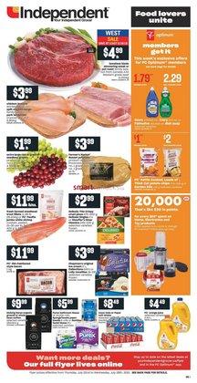 Independent Grocer catalogue ( 3 days left)