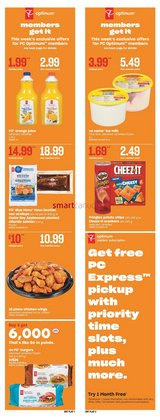 Grocery deals in the Independent Grocer catalogue ( Expires tomorrow)