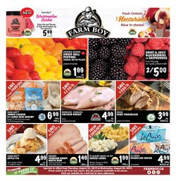 Farm Boy deals in the Ottawa flyer