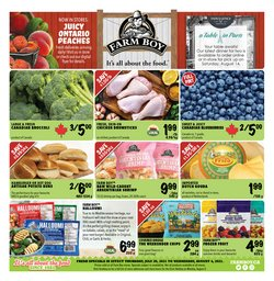Grocery deals in the Farm Boy catalogue ( Expires tomorrow)
