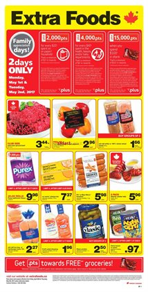 Grocery offers in the Extra Foods catalogue in Winnipeg