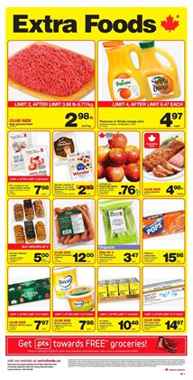 Extra Foods deals in the Smithers flyer