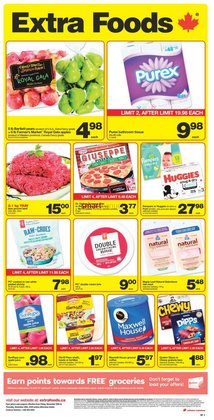 Extra Foods catalogue ( Expires today )