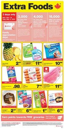 Extra Foods catalogue ( Expired )