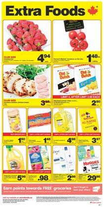Extra Foods catalogue ( Published today )