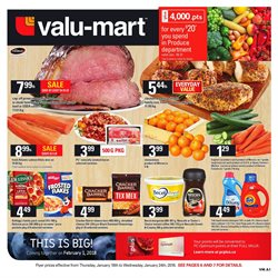 Valu-mart deals in the Toronto flyer