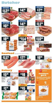 Grocery offers in the Valu-mart catalogue ( 2 days left )