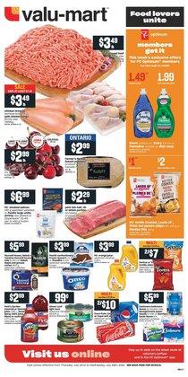Valu-mart deals in the Valu-mart catalogue ( 3 days left)