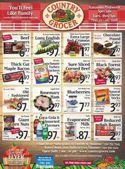 Country Grocer deals in the Victoria BC flyer