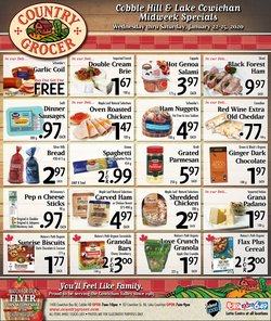 Country Grocer deals in the Duncan flyer
