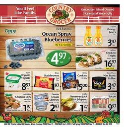 Country Grocer catalogue ( Expires tomorrow )