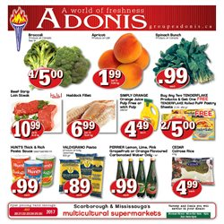 Marché Adonis deals in the Scarborough flyer