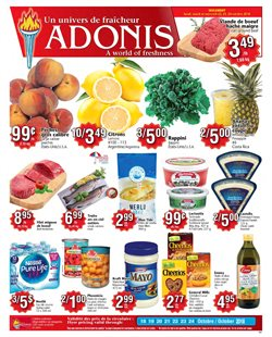Marché Adonis deals in the Montreal flyer