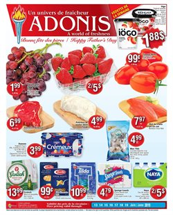 Grocery offers in the Marché Adonis catalogue in Montreal