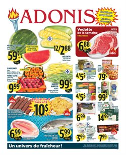 Marché Adonis catalogue ( Published today )