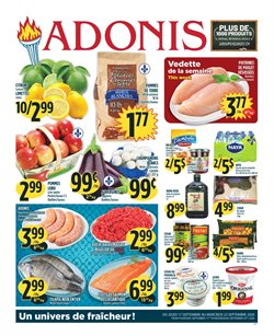 Sales deals in the Marché Adonis catalogue ( 2 days left)