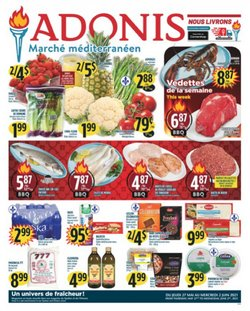 Marché Adonis deals in the Marché Adonis catalogue ( Expired)