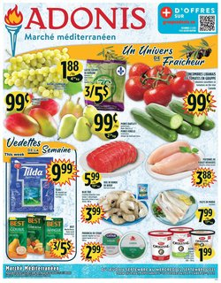 Marché Adonis deals in the Marché Adonis catalogue ( 1 day ago)