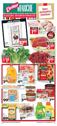 L'Intermarché deals in the Montreal flyer