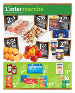 L'Intermarché deals in the Joliette flyer