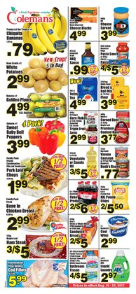 Coleman S In Corner Brook Weekly Flyer And Coupons