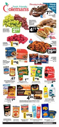 Coleman's deals in the Coleman's catalogue ( Expires today)