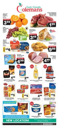 Grocery deals in the Coleman's catalogue ( Expires tomorrow)