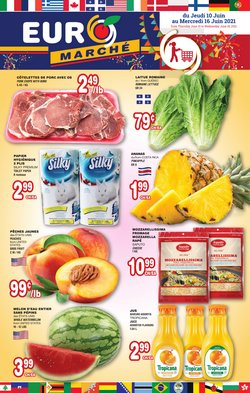 Grocery deals in the Euromarché catalogue ( Expires today)