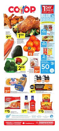 Co-op Atlantic deals in the Charlottetown (Prince Edward Island) flyer