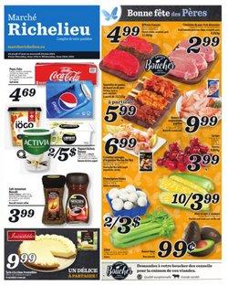 Marché Richelieu deals in the Marché Richelieu catalogue ( 4 days left)