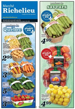 Grocery deals in the Marché Richelieu catalogue ( Published today)