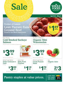 Whole Foods Market deals in the Toronto flyer