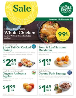 Whole Foods Market deals in the Vancouver flyer