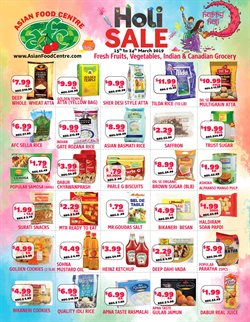 Asian Food Centre deals in the Brampton flyer