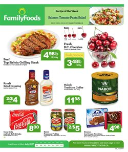 Grocery offers in the Family Foods catalogue in Winnipeg