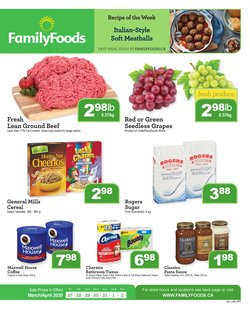 Family Foods catalogue ( 1 day ago )